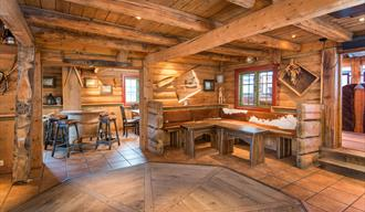 Pub at Nordal Tourist Center in Lom, Jotunheimen